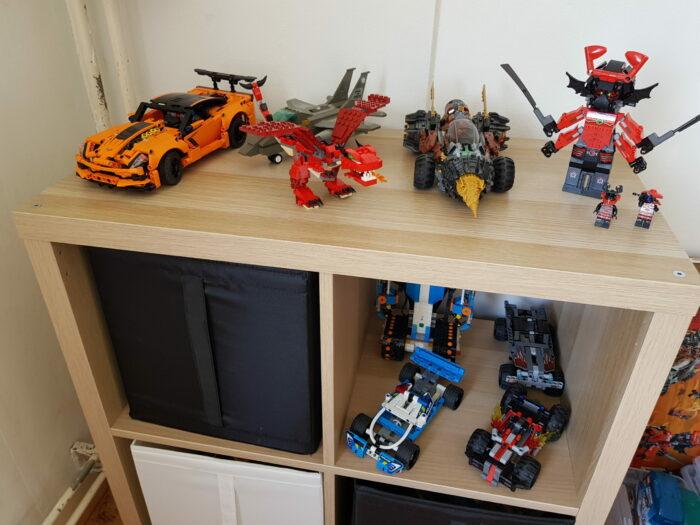 こども(男子)部屋:これで解決!お悩みレゴのスッキリ収納5つのポイント